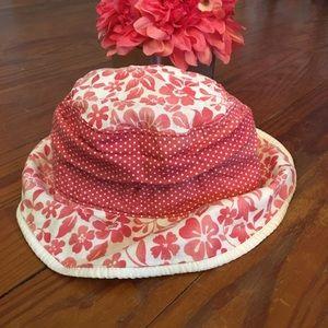 Baby Gap Pink Floral Bucket Hat